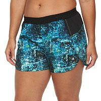 Plus Size Champion Sport 5 Printed Woven Shorts