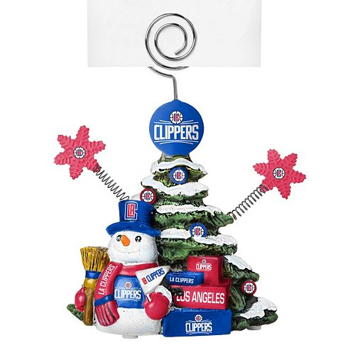 Los Angeles Clippers Christmas Tree Photo Holder