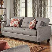 HomeVance Manda Eclipse Arm Sofa