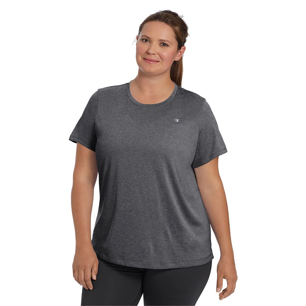 Women's Plus Size Champion Scoopneck Vapor Active Tee