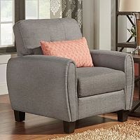 HomeVance Manda Eclipse Arm Armchair