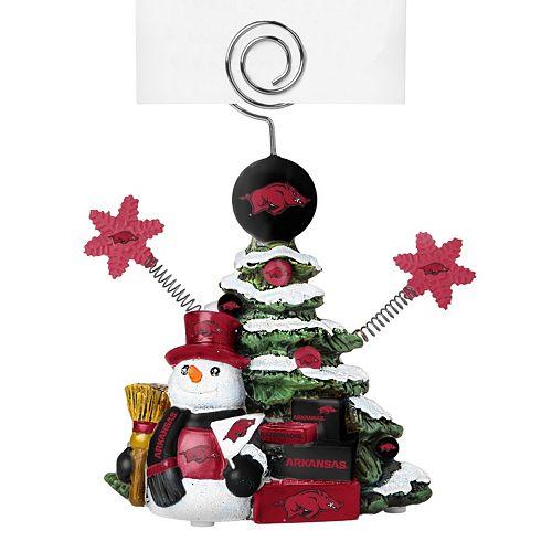 Arkansas Razorbacks Christmas Tree Photo Holder