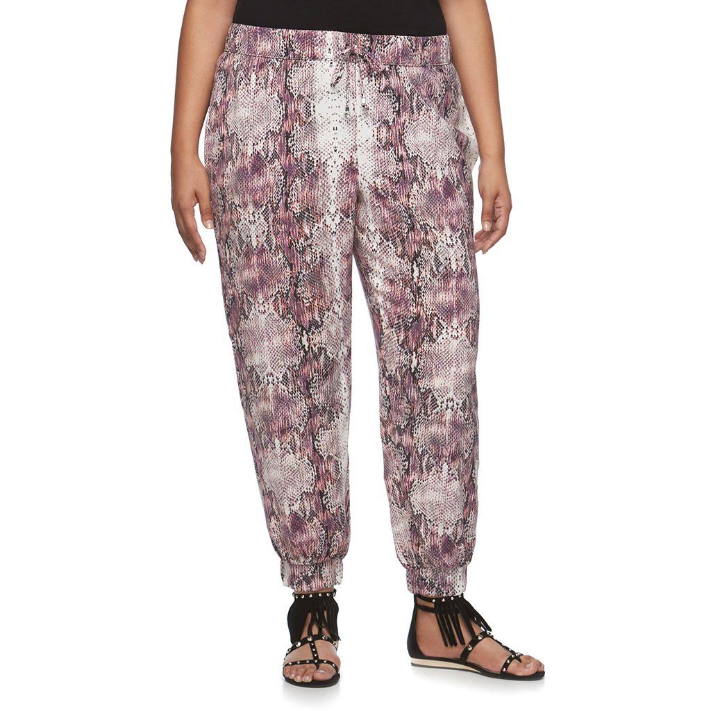 Plus Size Jennifer Lopez Soft Pants
