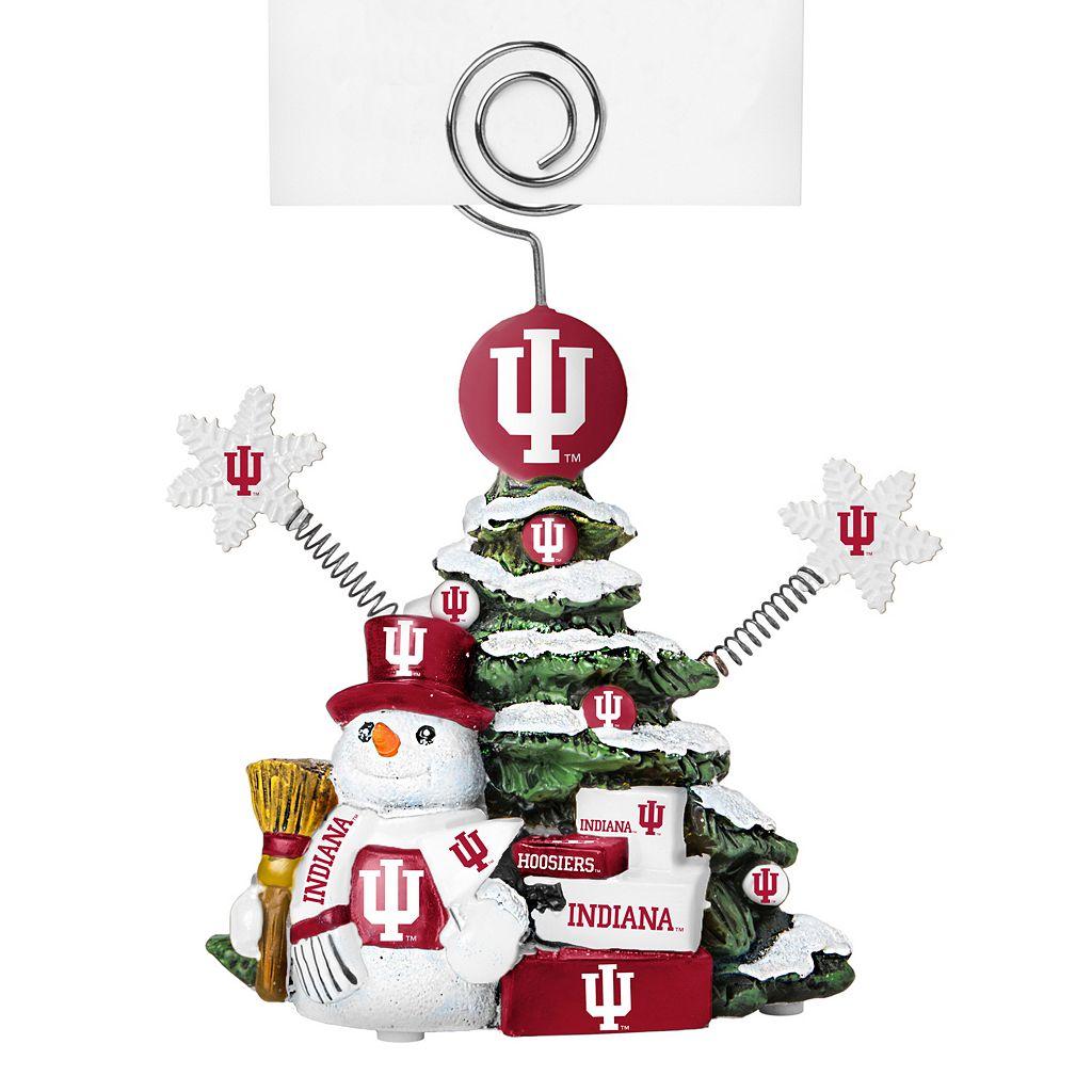 Indiana Hoosiers Christmas Tree Photo Holder