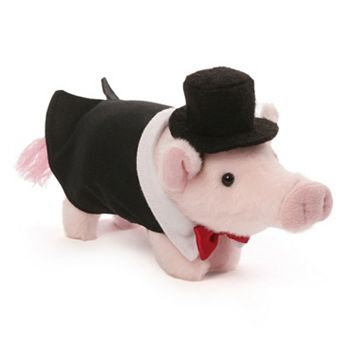 Prissy & Pop Formal Pop Pig Plush Toy by GUND