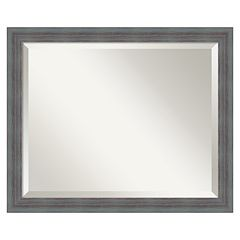 Rustic Beveled Wall Mirror