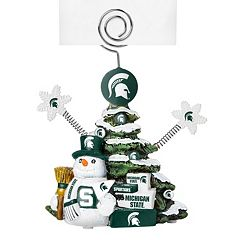 Michigan State Spartans Christmas Tree Photo Holder