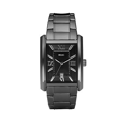 Relic Allen Stainless Steel Black Ion Watch - ZR77109 - Men