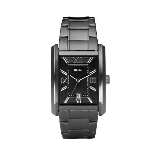 Relic Allen Stainless Steel Black Ion Watch - ZR77109 - Men