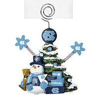 North Carolina Tar Heels Christmas Tree Photo Holder