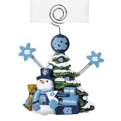 North Carolina Tar Heels Christmas Tree Photo Holder