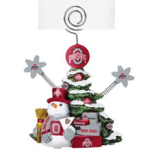 Ohio State Buckeyes Christmas Tree Photo Holder