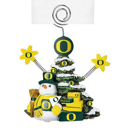 Oregon Ducks Christmas Tree Photo Holder