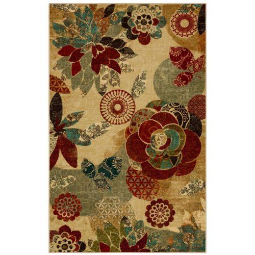 Mohawk® Home Geo Floral Pattern Rug