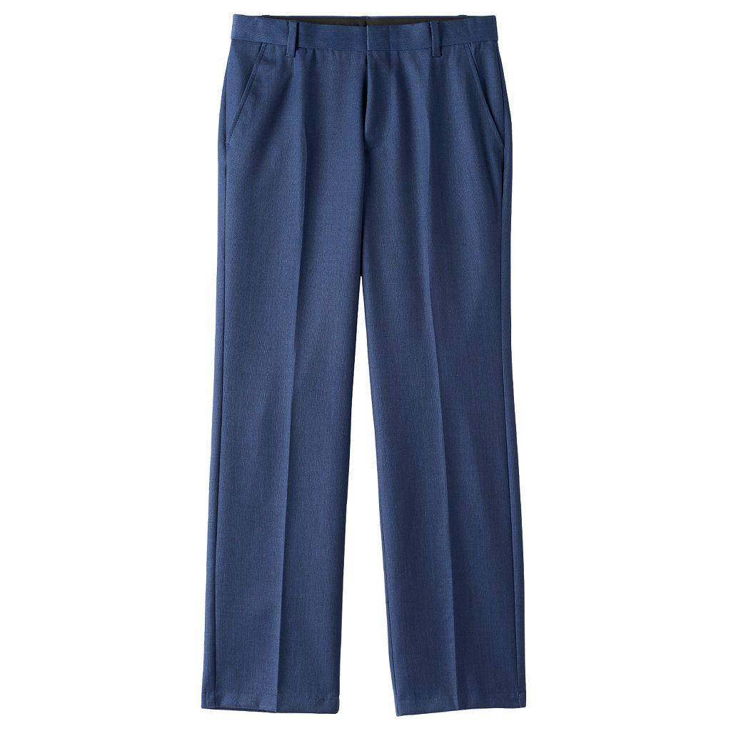 Boys 8-18 Chaps Fine Tick Dress Pants