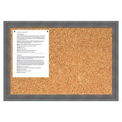 Whiskey Rustic Cork Message Board