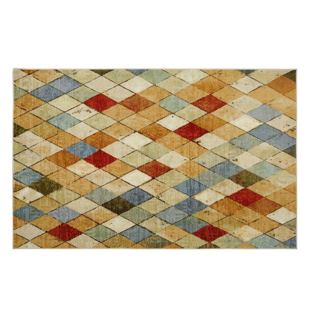 Mohawk® Home Argyle Geometric Rug