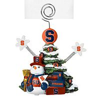 Syracuse Orange Christmas Tree Photo Holder