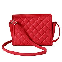 ili Leather Quilted Crossbody Bag