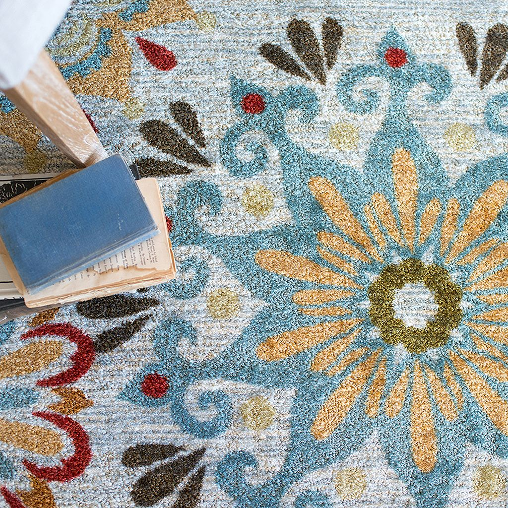 Mohawk® Home Global Goddess Floral Rug