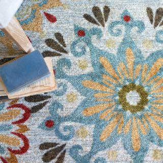 Mohawk® Home Global Goddess Floral Rug