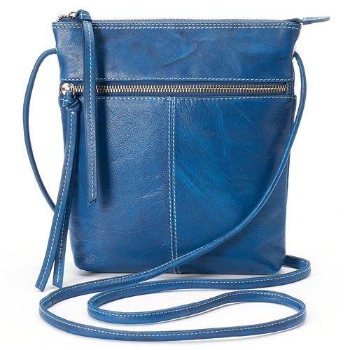 ili Leather Multipocket Crossbody Bag