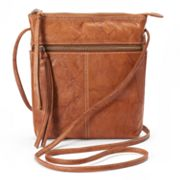 ili Leather Multipocket Crossbody Bag