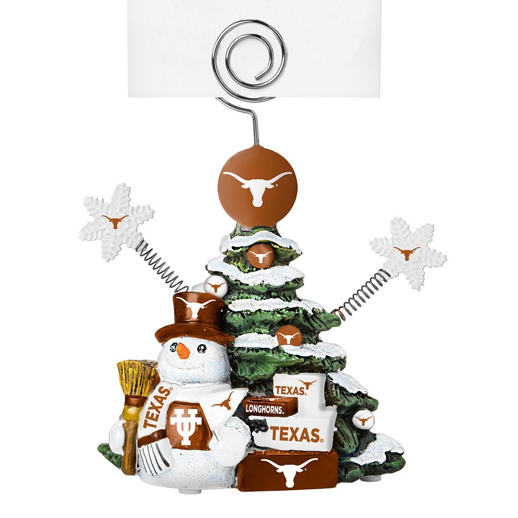 Texas Longhorns Christmas Tree Photo Holder