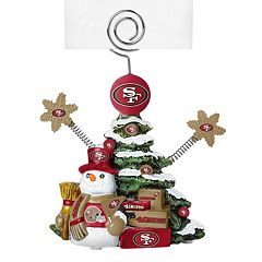 San Francisco 49ers Christmas Tree Photo Holder