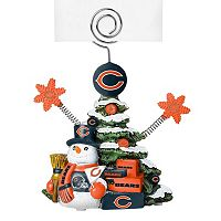 Chicago Bears Christmas Tree Photo Holder