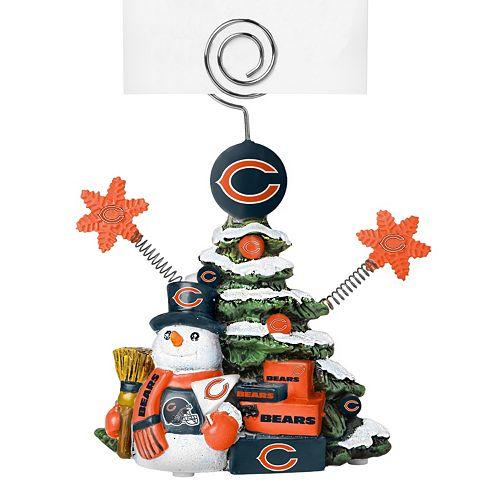 Chicago Bears Christmas Tree Photo Holder