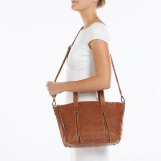 ili Leather Convertible Crossbody Bag