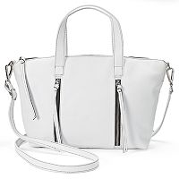 ili Leather Convertible Crossbody Bag