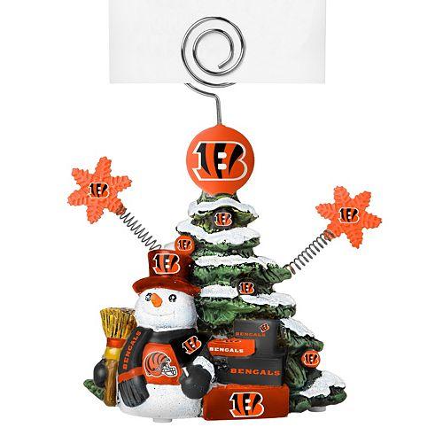 Cincinnati Bengals Christmas Tree Photo Holder