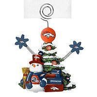 Denver Broncos Christmas Tree Photo Holder
