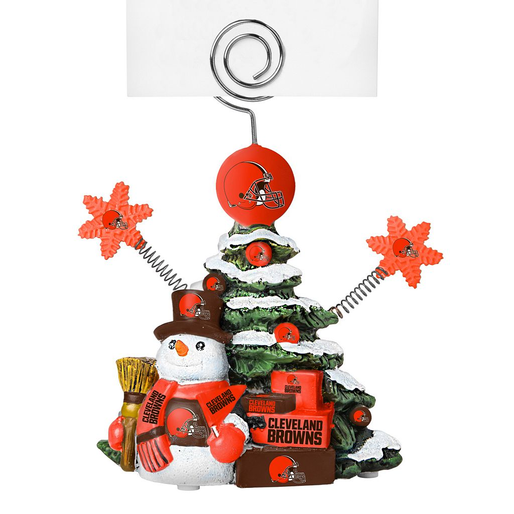 Cleveland Browns Christmas Tree Photo Holder