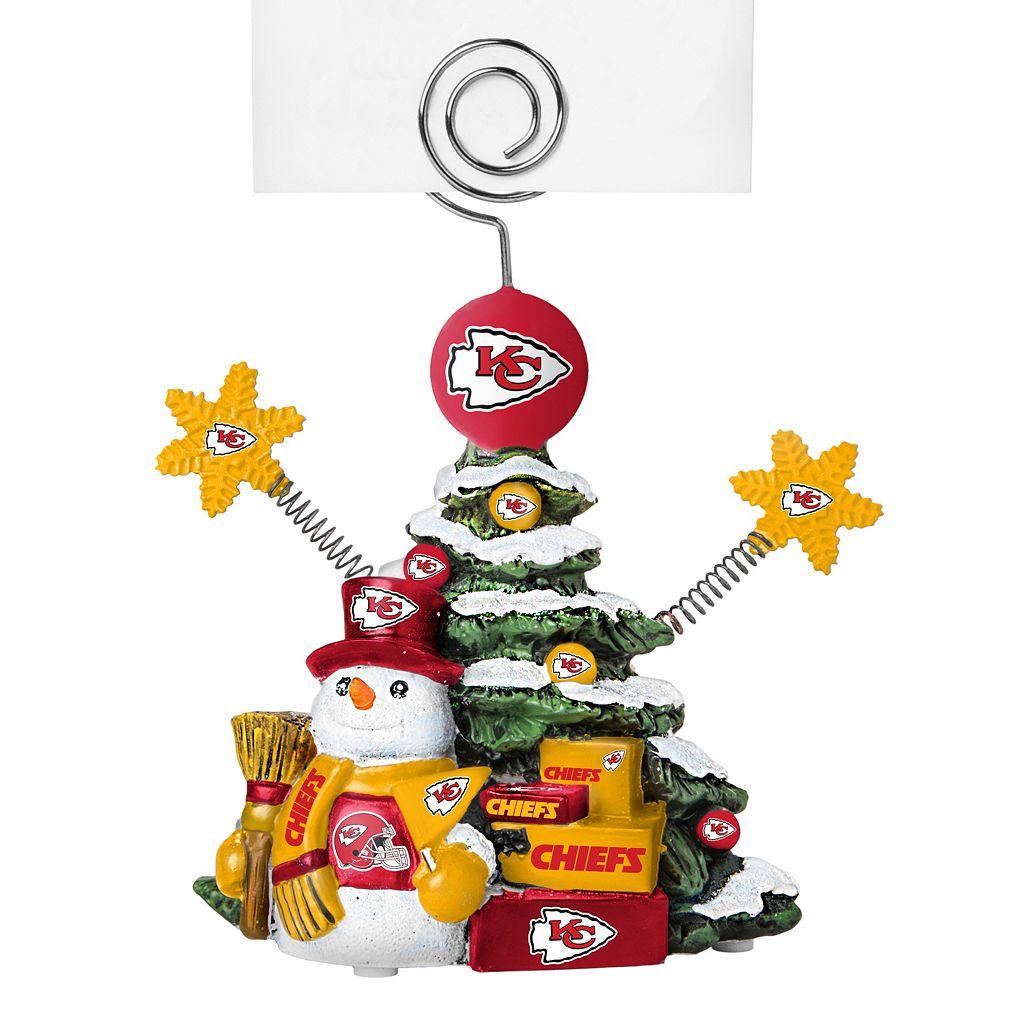 Kansas City Chiefs Christmas Tree Photo Holder