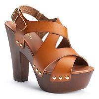 Candie's® Women's Chunky Platform Heels