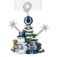 Indianapolis Colts Christmas Tree Photo Holder