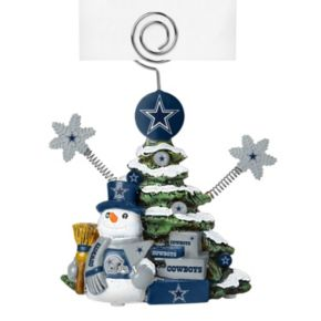 Dallas Cowboys Christmas Tree Photo Holder