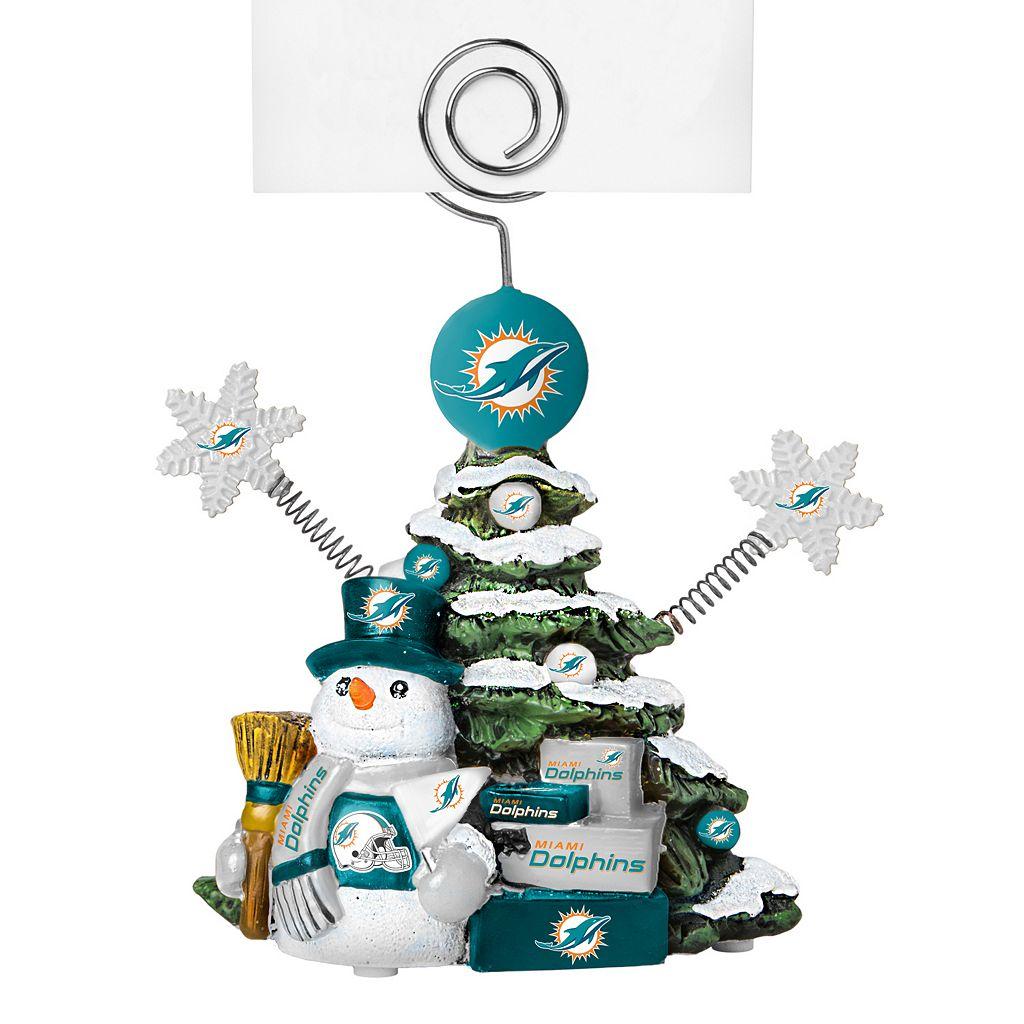 Miami Dolphins Christmas Tree Photo Holder