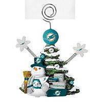 Miami Dolphins Christmas Tree Photo Holder