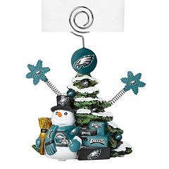 Philadelphia Eagles Christmas Tree Photo Holder