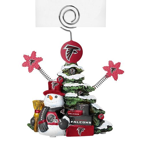 Atlanta Falcons Christmas Tree Photo Holder