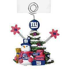 New York Giants Christmas Tree Photo Holder