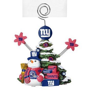 New York Giants Christmas Tree Photo Holder