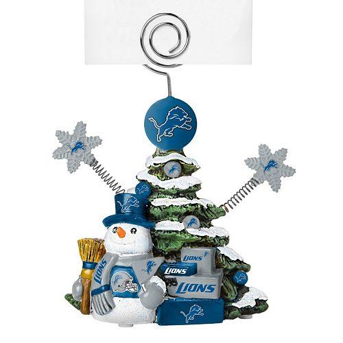 Detroit Lions Christmas Tree Photo Holder