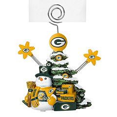 Green Bay Packers Christmas Tree Photo Holder