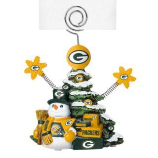 Green Bay Packers Christmas Tree Photo Holder