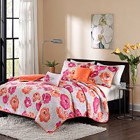 Intelligent Design Jenessa Coverlet Set